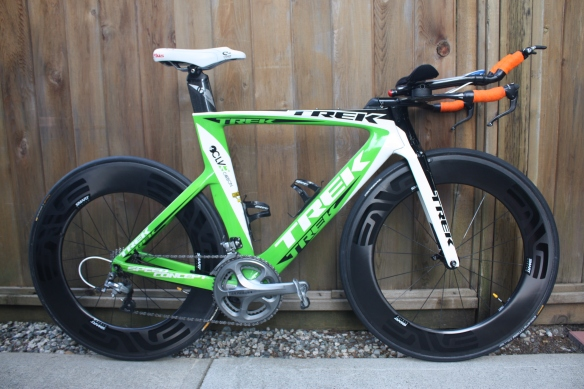 Trek Speed Concept with Enve 8.9 Wheels