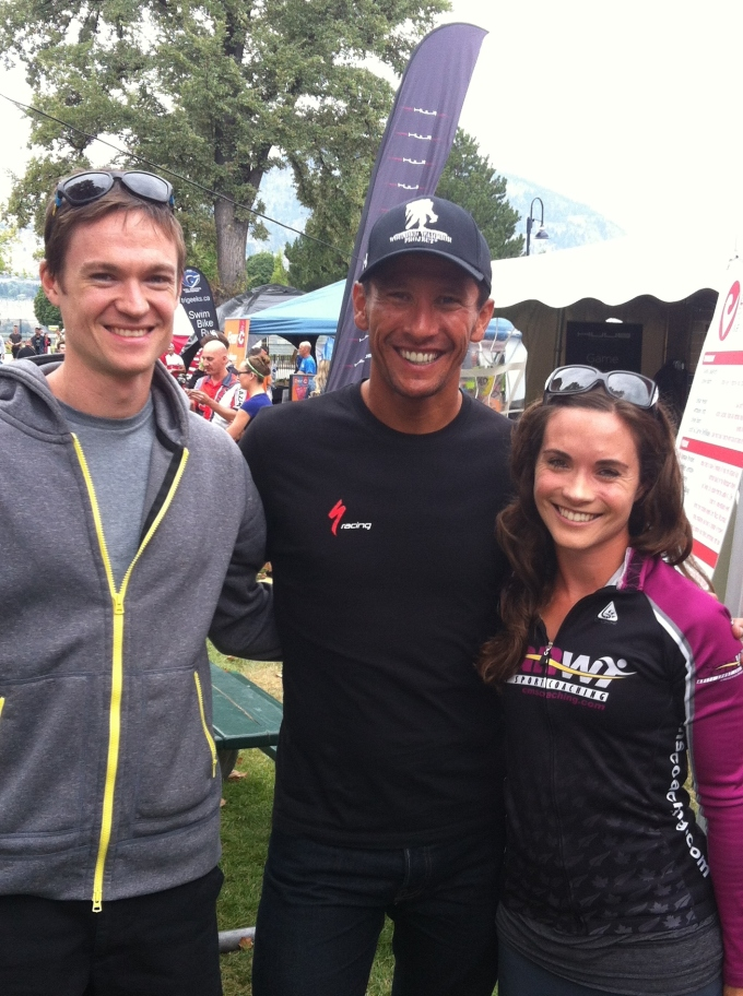 "Got to hang out with 2-time Ironman World Champion Chris ""Macca"" McCormack"