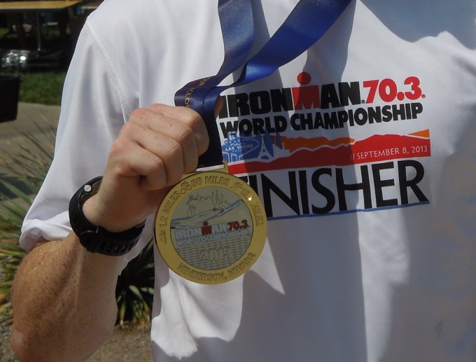 Medals Vegas 70.3