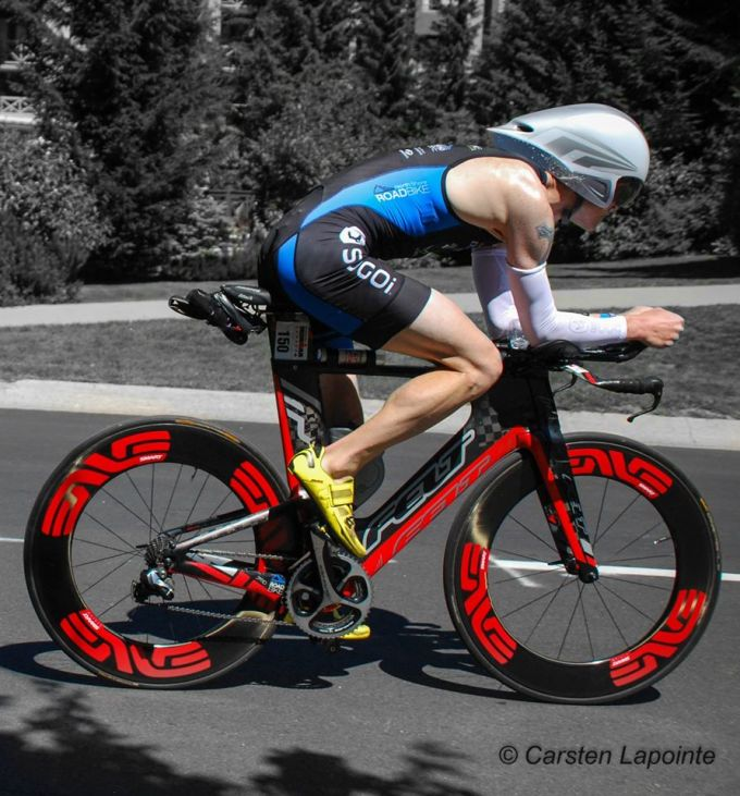 Now that is one intimidating bike setup.  I felt I did my Felt IA and Enve wheels justice on the day.