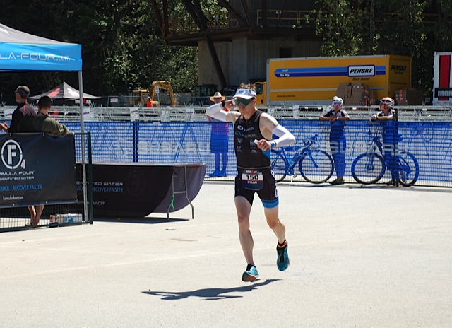 Running out of T2 I was already dousing myself in water.  It was HOT!