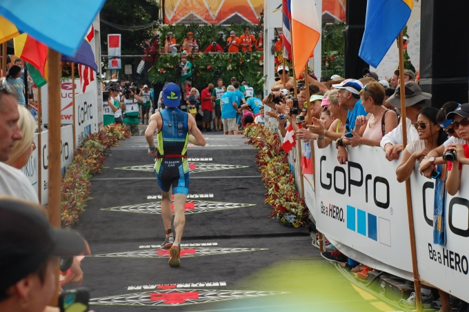 Ironman World Championships Finish 2